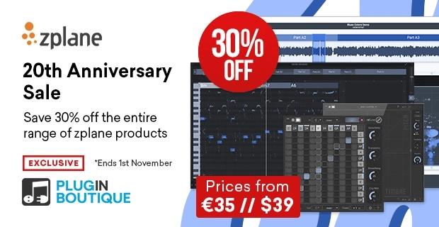 zplane 20th anniversary sale