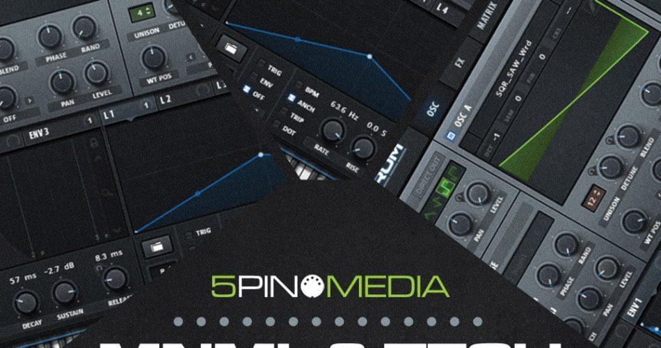 5Pin Media Mnml & Tech DnB Serum