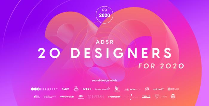 ADSR 20 Designers for 2020