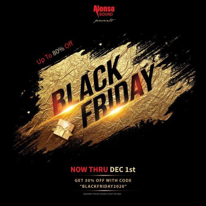 Alonso Sound Black Friday Sale 2020