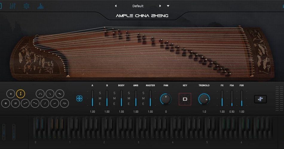 Ample Sound Ample China Zheng GUI