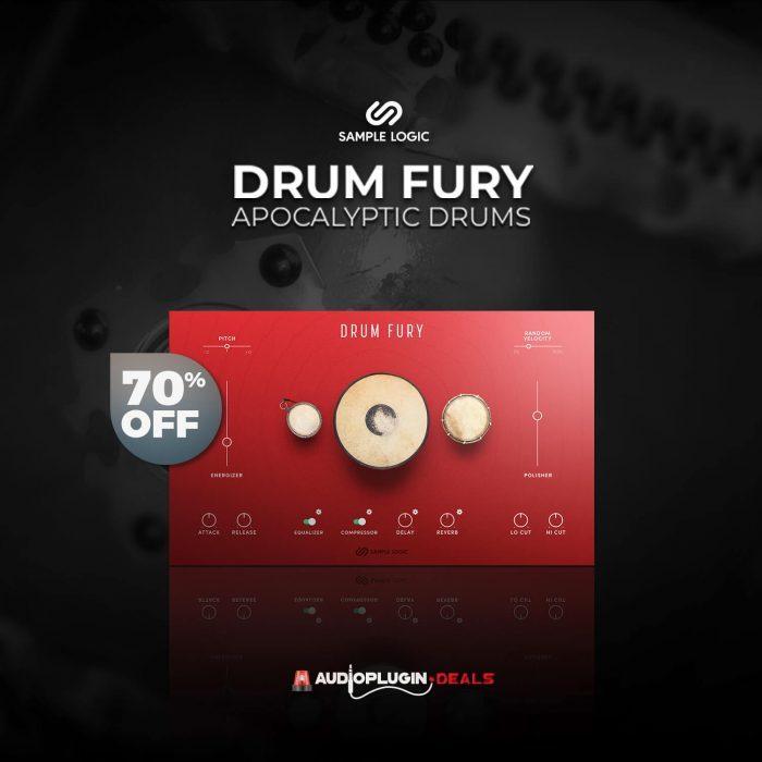 Audio Plugin Deals Sample Logic Drum Fury