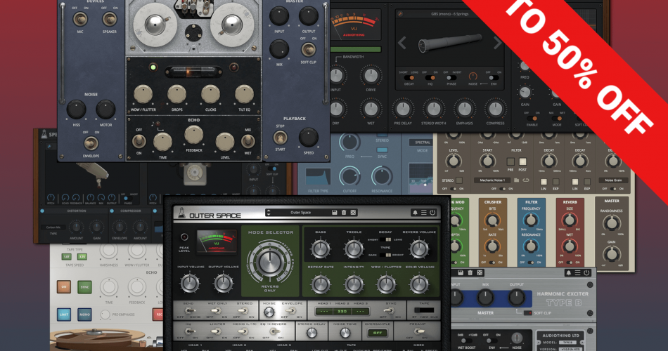 AudioThing BF Sale 50 OFF