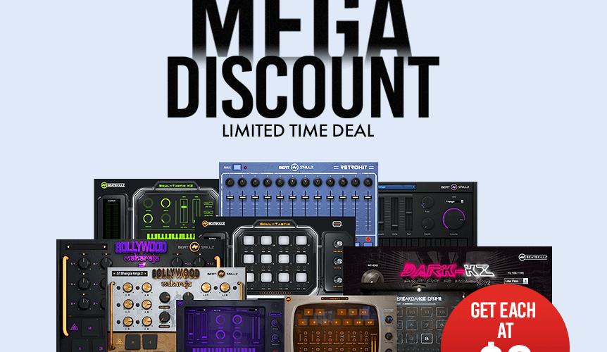 BeatSkillz Plugins Mega Discount 9 USD