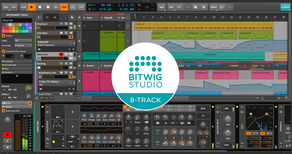 Bitwig 8 Track