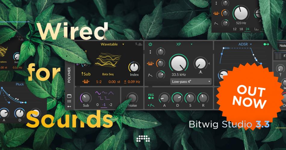 Bitwig Studio 3.3 release