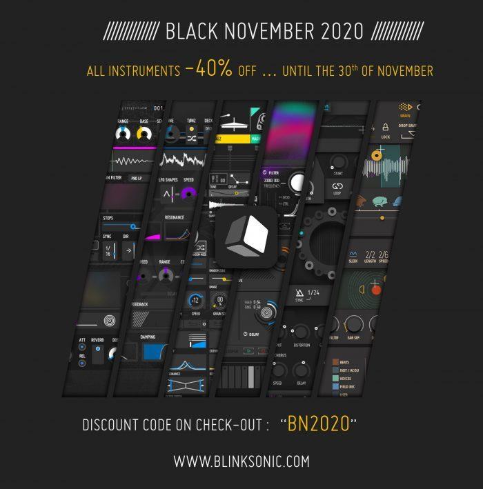 Blinksonic Black November 2020