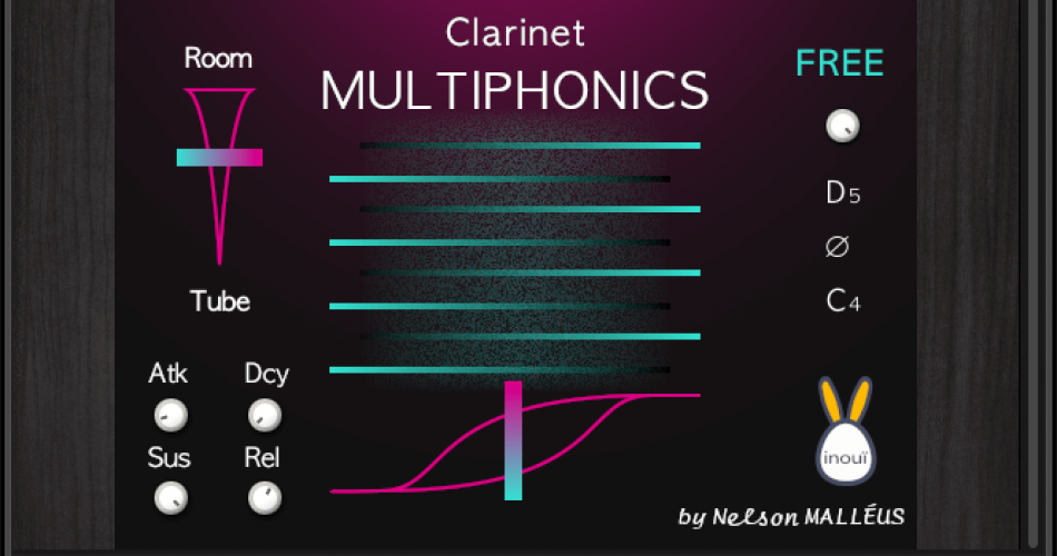 Clarinet Multiphonics GUI