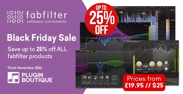 FabFilter Black Friday 25