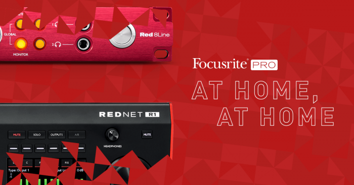 Focusrite Pro At Home At Home