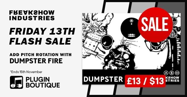 Freakshow Dumpster Fire Sale