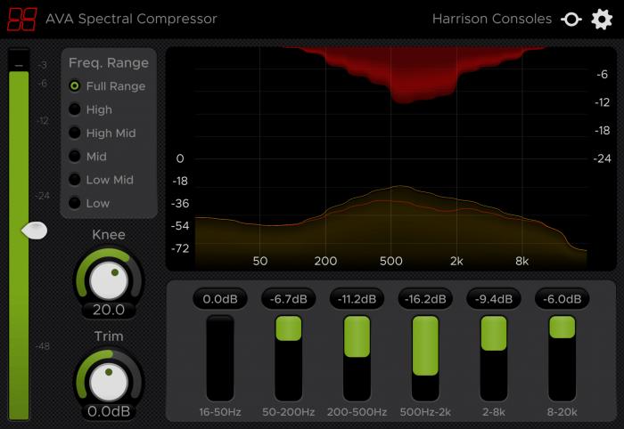 Harrison AVASpectralCompressor