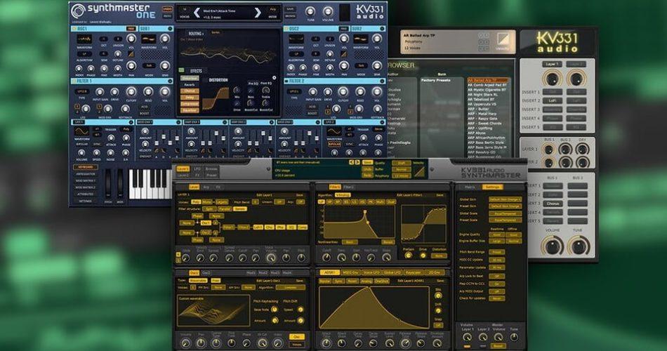 KV331 Audio Synthmaster synths
