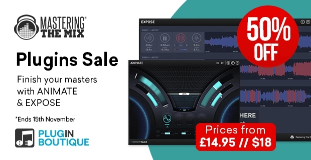 Mastering The Mix Plugins Sale 50 OFF