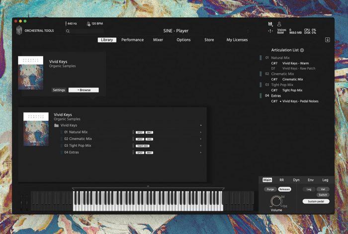 Orchestral Tools Vivid Keys