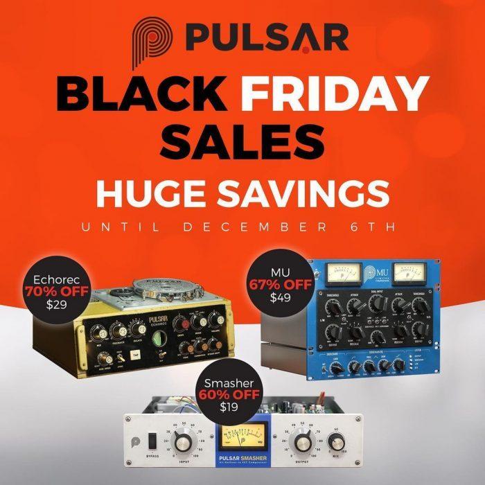 Pulsar Audio Black Friday Sale 2020