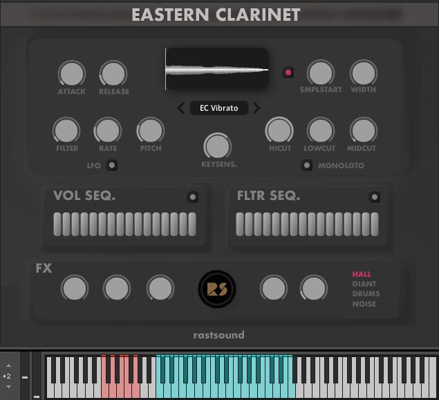 Rast Sound Eastern Clarinet