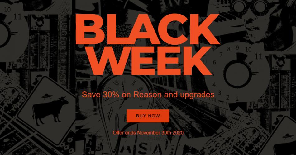 Reason Studios Black Week