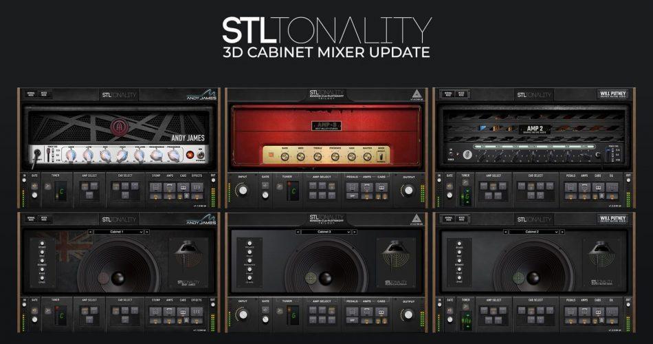 STL Tonality 3D Cabinet Mixer Update