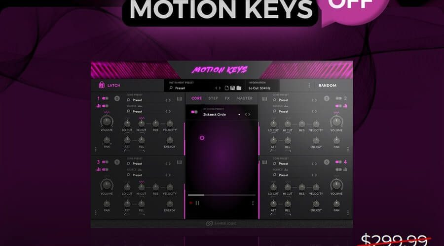 Sample Logic Motion Keys 75 OFF
