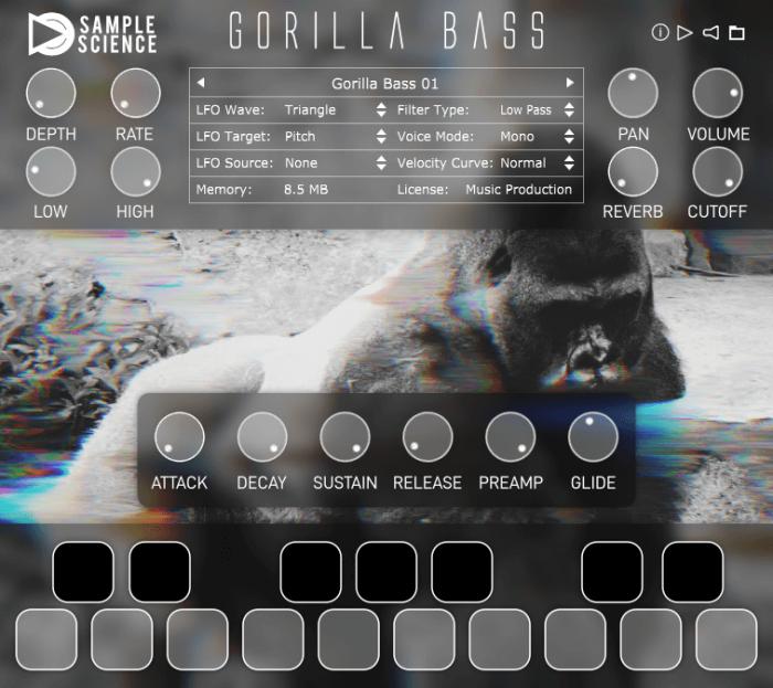 SampleScience Gorilla Bass Screenshot