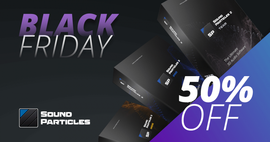 Sound Particles 50 OFF deal