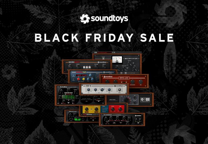 Soundtoys Black Friday 2020