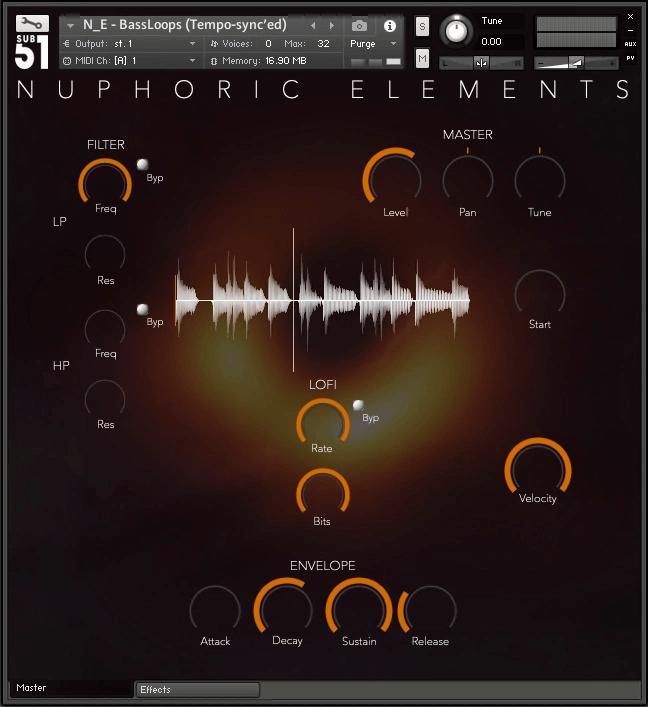 Sub51 Nuphoric Elements