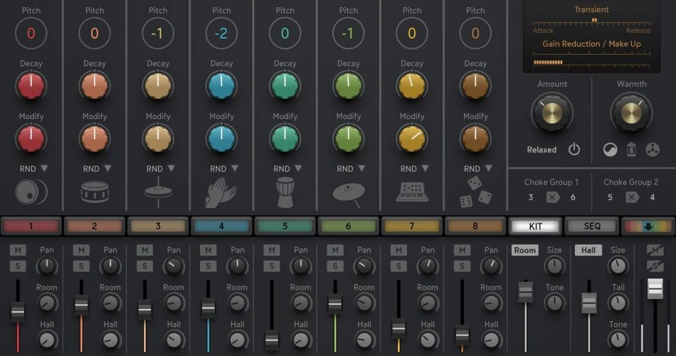 Sugar Bytes DrumComputer iPad