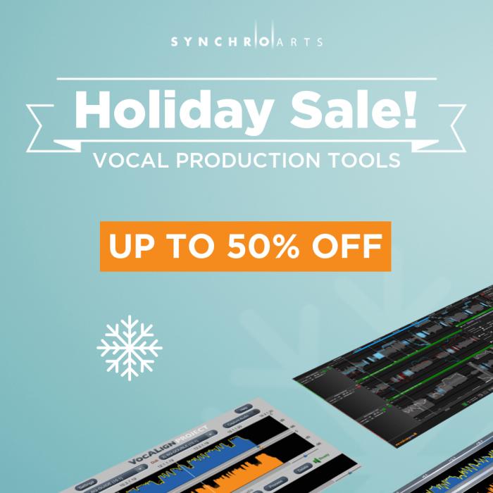 Synchro Arts Holiday Sale