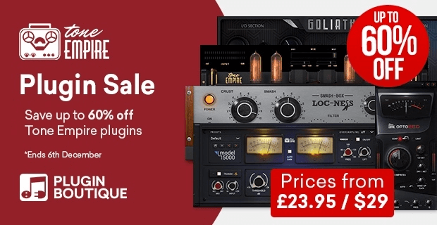 Tone Empire Plugin Sale 60