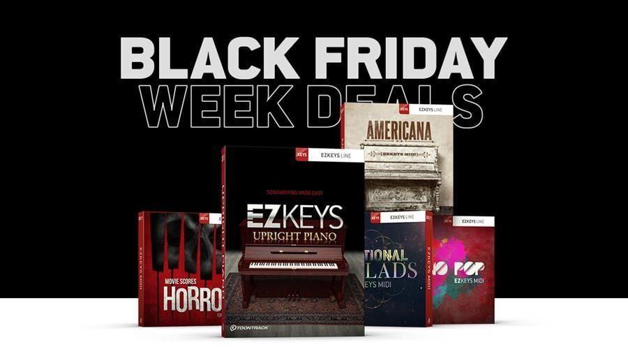 Toontrack Black Friday Week Deals