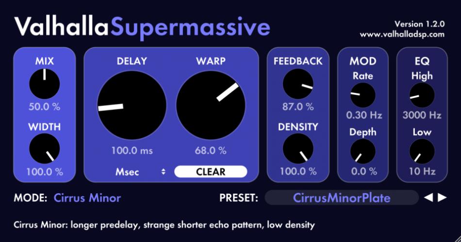 Valhalla Super Massive 1.2