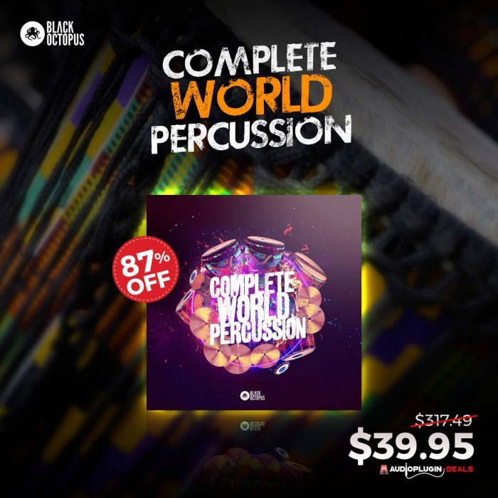 APD Black Octopus Complete World Percussion