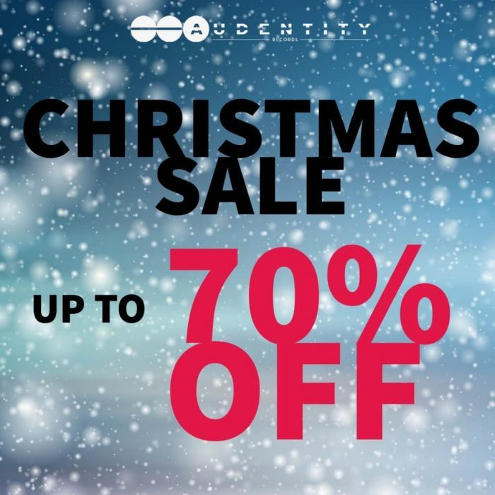 Audentity Records Christmas Sale