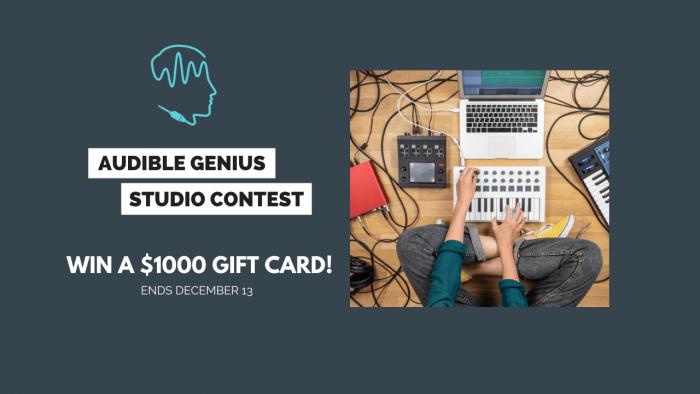 Audible Genius Studio Contest