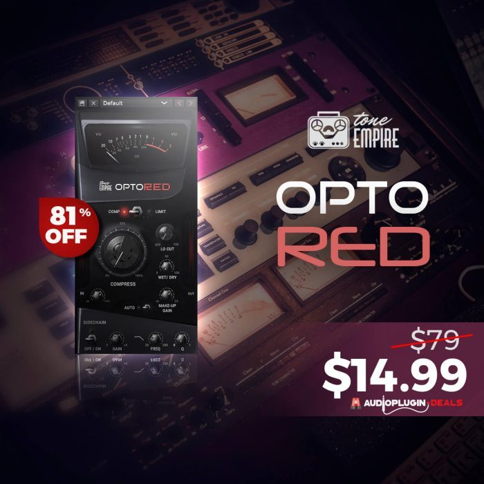Audio Plugin Deals OptoRed