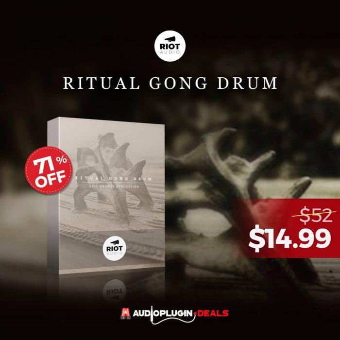 Audio Plugin Deals Ritual Gong Drum