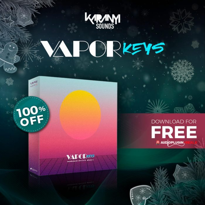 Audio Plugin Deals Vapor Keys FREE