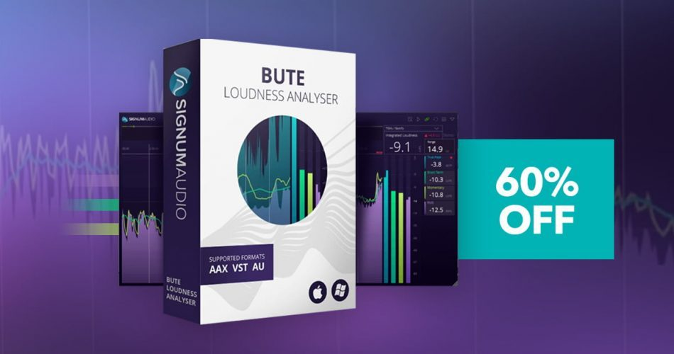 BUTE Loudness Analyser Stereo 60 OFF
