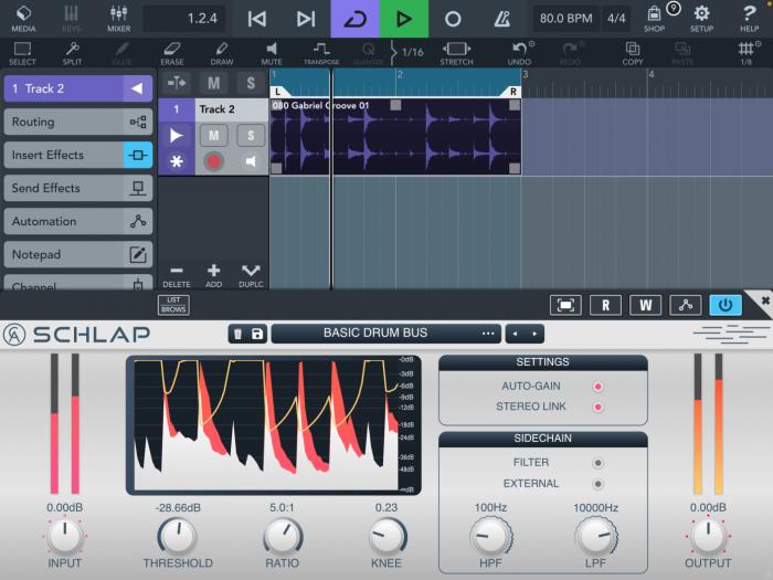 Caelum Audio Schlap Compressor iOS