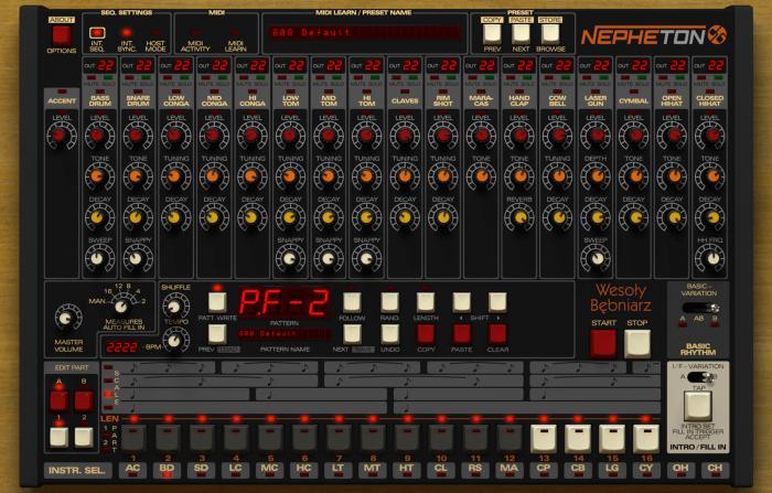 D16 Nepheton GUI