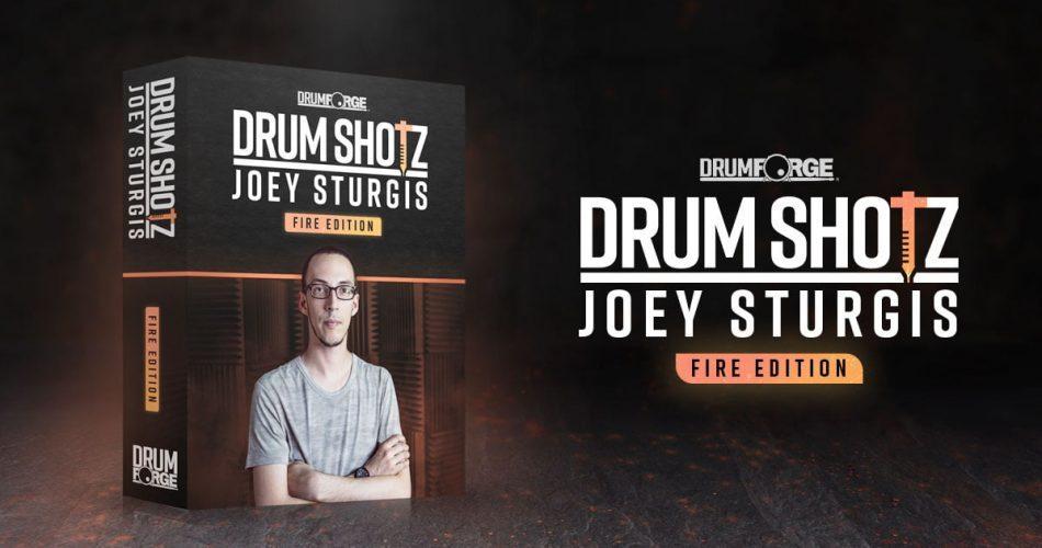 Drumforge DrumShotz Joey Sturgis Fire Edition