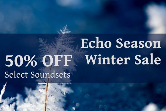 Echo Season Winter 2020 Sale