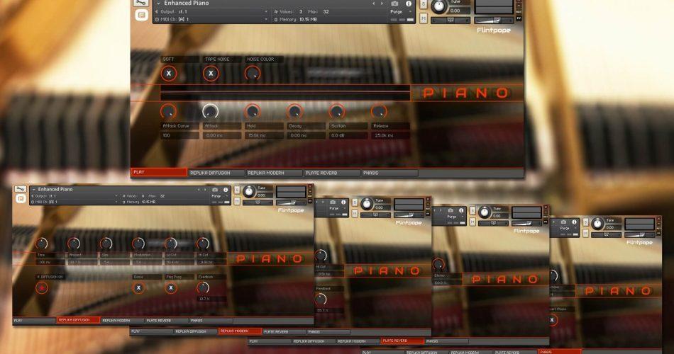 Flintpope Enhanced Piano for Kontakt