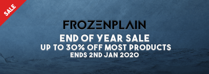 FrozenPlain End of Year Sale