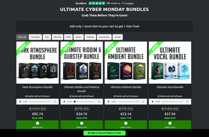 Ghosthack Cyber Monday Bundles