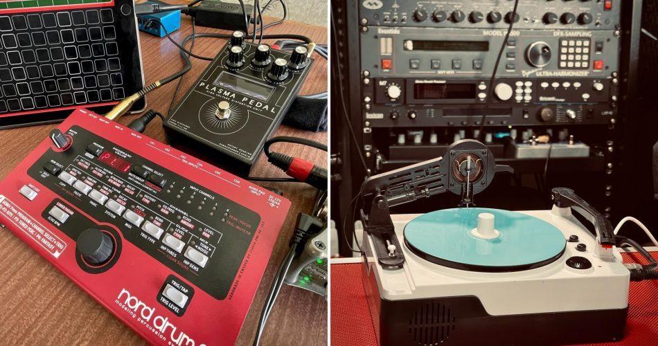 Goldbaby ND2 vs Plasma Kicks and Toy Record Sounds