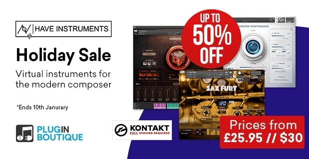 Have Instruments Holiday Sale 50 OFF