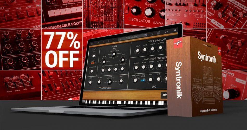 IK Syntronik Krazy Deal 69 USD